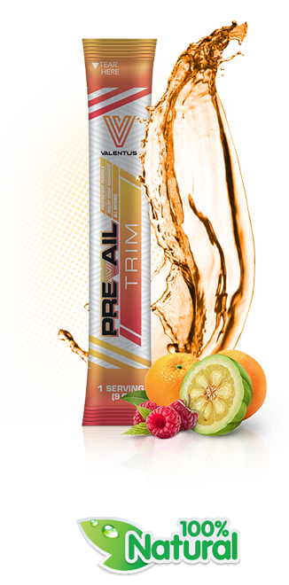 Prevail trim, with natural appetite suppressants, fat burning and energy!