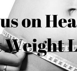 Focus More on Health not Weight Loss