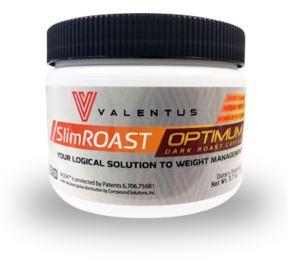 Tub of SlimRoast Optimum Coffee