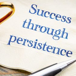 Success through persistence