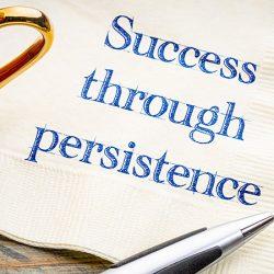 Success through persistence