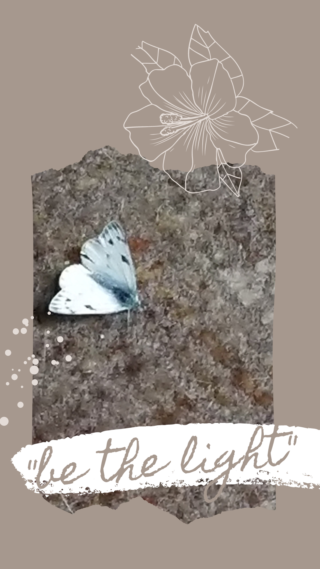 white butterfly, be the light, if you didn't have tomorrow,